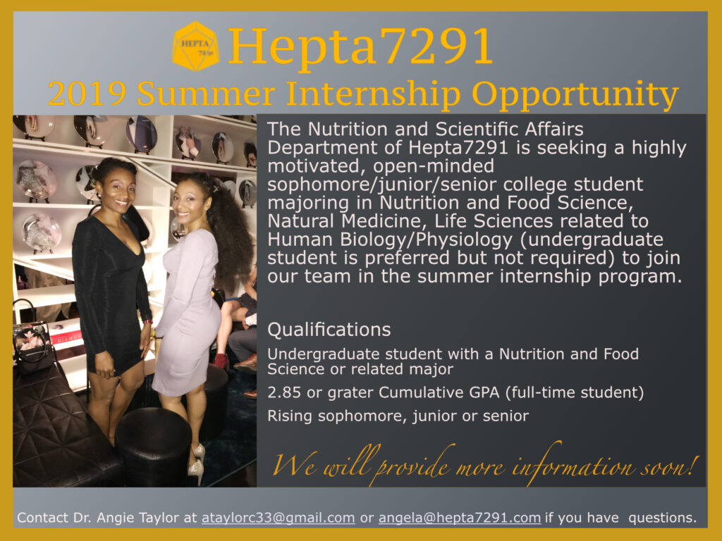 Hepta7291 Summer Internship